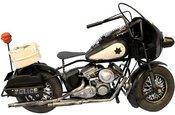 Figūrėlė Motociklas juodas/gelsvas 21x34x12 cm 68607