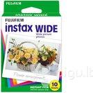 10vnt Fujifilm Instax Film Wide glossy