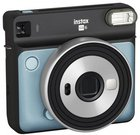 Fujifilm instax SQUARE SQ6 (mėlynas) + 10 vnt. Fotoplokštelių