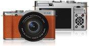 Fujifilm X-A2 Brown + XC 16-50mm, 16.3 Mpixels/ 3.0'' LCD/ ISO 25600