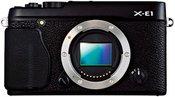 FujiFilm X-E1 be objektyvo