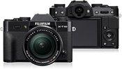 Fujifilm X-T10 Black + XF 18-55mm, juodas