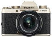 Fujifilm X-T100 + XC15-45 (šampano auksinė)
