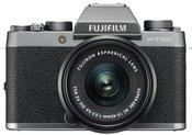 Fujifilm X-T100 + XC15-45 (Tamsi sidabro)