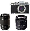 Fujifilm X-T3 + 18-55mm + 55-200mm Kit - Pilkas