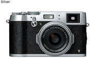 Fujifilm X100T silver + X series Case brown