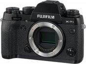 FujifilmX-T1 Black Body, 16.3 Mpixels/ 3.0'' LCD/ ISO 51200 / X-Trans CMOS/ Sensor Cleaning system/ Full HD rec./ HDMI/ Wireless/ USB2.0/ Li-ion battery/ Media: SD/SDHC/SDXC