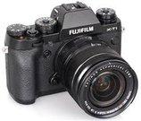 FujifilmX-T1 Black + XC 18-55mm, 16.3 Mpixels/ 3.0'' LCD/ ISO 51200 / X-Trans CMOS/ Sensor Cleaning system/ Full HD rec./ HDMI/ Wireless/ USB2.0/ Li-ion battery/ Media: SD/SDHC/SDXC