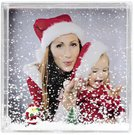 Hama Winterland 10x10 Acrylic Portrait Frame 57349