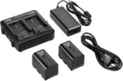 JVC IDX Power Pack incl. 2x SSL-JVC50 Batteries