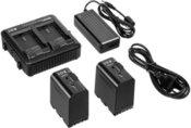 JVC IDX-JP2-E Ladegerät incl. 2x SSL-JVC75 Akku