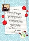 """Kalėdų Senelio laiškas """"Sniegelis"""""""