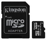 Kingston 32GB microSDHC UHS-I Class 10 SD Adapter Kingston