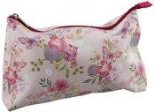 Krepšelis kosmetikai su gėlių piešiniu H:20 W:29 D:6 cm SP801