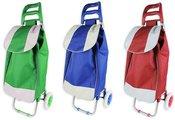 Krepšys pirkiniams ant dviejų ratukų 95x36x30cm AM1002 (3 spalvų) PVC DDM