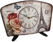 Laikrodis pastatomas su Eifelio bokštu H:21 W:29 D:7 cm 18W815