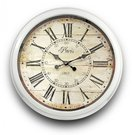Laikrodis sieninis baltas metalinis 70x70x9 cm 77198