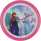 Laikrodis sieninis Disney Anna ir Eliza rožinis DI223 D 26 cm isp.