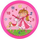 Laikrodis sieninis mergaičių kambariui D 25 cm RE101G