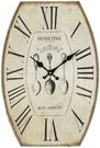 "Laikrodis sieninis ovalus ""Skanaus"" H:45 W:30 D:4 cm W7401 psb"