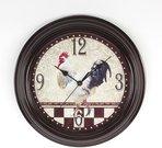 Laikrodis sieninis su gaidžio piešiniu D 30 cm W7353