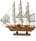 Laivas medinis 31X31 cm HR16085 SAVEX