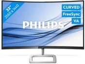 "LED 32"" Curved 328E9FJAB/00 QHD 2560x1440 16:9 20M:1 (TYP 3000:1) 250cd 5ms 178/178 VGA/DP/HDMI, HAS, SPK 2x3W, C:Black"