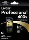 Lexar SDHC 8GB 400X Professional