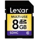 Lexar 8GB SDHC C6 Card