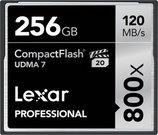 Lexar CF Card 256GB 800x Professional UDMA