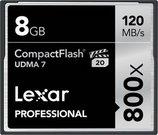 Lexar CF Card 8GB 800x Professional UDMA