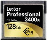 Lexar CFast 2.0 128GB 3400x Professional