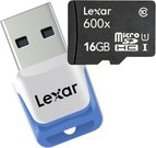 Lexar microSDHC 600x UHS-I 16GB with USB 3.0 Reader