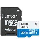 Lexar microSDHC High Speed 32GB with Adapter Class 10 300x