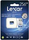 Lexar microSDXC 633x UHS-I 256GB with USB 3.0 Reader