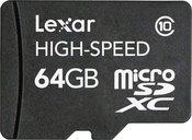 Lexar microSDXC 64GB Class 10
