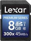 Lexar SDHC Card 8GB 300x Premium II Class 10 UHS-I
