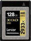 Lexar XQD Card 128GB 2933x Prof incl XQD 2.0 USB 3.0 Reader