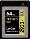 Lexar XQD Card 64GB 2933x Prof incl XQD 2.0 USB 3.0 Reader