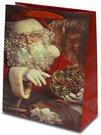 Maišelis dovanoms su Kalėdų senelio piešiniu 32x26x12 cm 111136 kld noakc