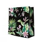 Maišelis popierinis su tropinių gėlių piešiniu 44x54x16 cm 131071
