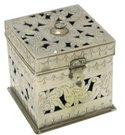 Metalinė dėžutė - žvakidė h13 Indija SAVEX
