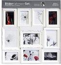 Nielsen 10pcs Ornament Set white Plastic 8999324