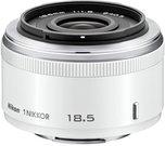Nikon 1 NIKKOR 1,8/18,5 mm white