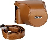 Nikon CB-N2220SA Body Case Set leather brown