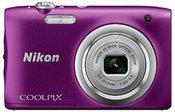 Nikon Coolpix A100 (purpurinis)
