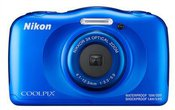 Nikon Coolpix W100 Blue Backpack kit Nikon COOLPIX W100 Blue, TFT, Lithium-Ion (Li-Ion), ISO sensitivity (max) 1600, Compact camera, 13.2 MP, 3 x, Wi-Fi, 6.86 cm