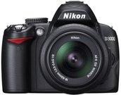Nikon D3000 objektyvu 18-55mm II