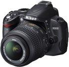 Nikon D3000 be objektyvo
