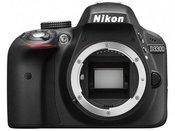 Nikon D3300 be objektyvo